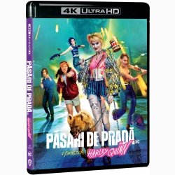 PASARI DE PRADA SI FANTASTICA HARLEY QUINN / BIRDS OF PREY: AND THE FANTABULOUS EMANCIPATION OF ONE HARLEY QUINN BD 4K