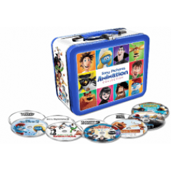 10 Filme Animaţie (Sony Animation) + LunchBox Metal (set de 10 DVD-uri)