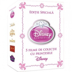 DISNEY PRINCESS Collectors Edition (5disc)