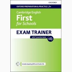 Oxf Prep and Prac for Cambridge Engl First for Sch Exam Trainer SB PK with Key 2020