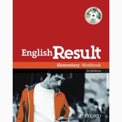 English Result Elementary: Workbook with Answer Booklet and MultiROM Pack- REDUCERE 35%