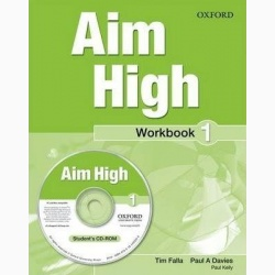 Aim High 1 Workbook & CD-ROM- REDUCERE 30%
