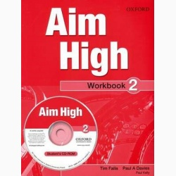 Aim High 2 Workbook & CD-ROM- REDUCERE 30%