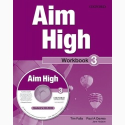 Aim High 3 Workbook & CD-ROM- REDUCERE 30%
