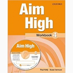 Aim High 4 Workbook & CD-ROM- REDUCERE 30%