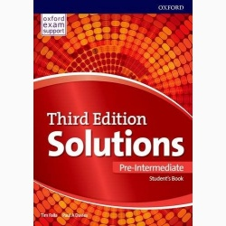 Solutions 3E Pre-Intermediate Student's Book