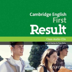 Cambridge English: First Result CL audio- REDUCERE 50%