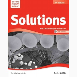 Solutions 2nd Edition Pre-Intermediate: Workbook and Audio CD Pack