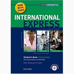 NEW International Express Intermediate SB PK PLUS- REDUCERE 50%
