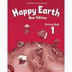 Happy Earth 1 Activity Book and MultiRom Pack- REDUCERE 35%