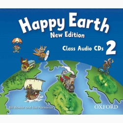 Happy Earth 2 Class Audio CDs (2)