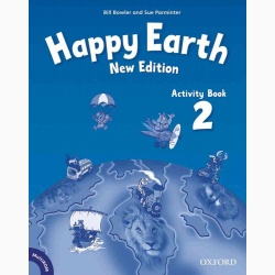 Happy Earth 2 Activity Book and MultiRom Pack- REDUCERE 35%