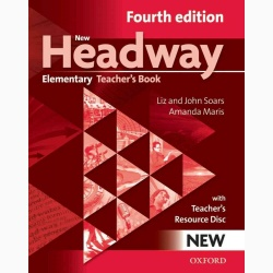 New Headway 4th Edition Elementary Teacher's Book and Teacher's Resource Disc Pack
