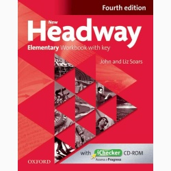 New Headway 4th Edition Elementary Workbook With Key