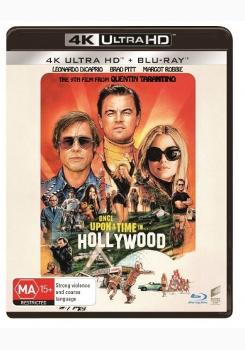 A fost odata la... Hollywood / Once Upon a Time in... Hollywood - UHD 2 discuri (4K Ultra HD + Blu-ray)