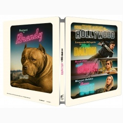 A fost odata la... Hollywood / Once Upon a Time in... Hollywood - UHD 2 discuri (4K Ultra HD + Blu-ray) (Steelbook)