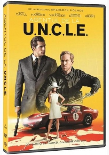 AGENTUL DE LA U.N.C.L.E / THE MAN FROM U.N.C.L.E - DVD