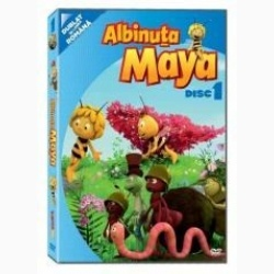 Albinuţa Maya / Maya the Bee - Disc 1 - DVD