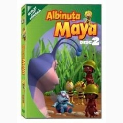 Albinuţa Maya / Maya the Bee - Disc 2 - DVD