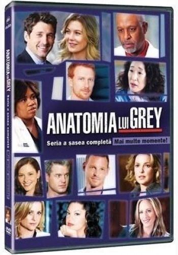 ANATOMIA LUI GREY Sezonul 6 (6disc) / GREY'S ANATOMY Season 6 (6disc) - TV Series