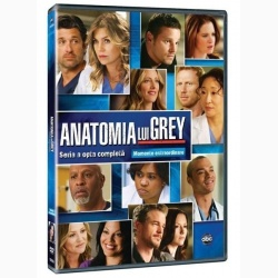 ANATOMIA LUI GREY Sezonul 8 (6disc) / GREY'S ANATOMY Season 8 (6disc) - TV Series