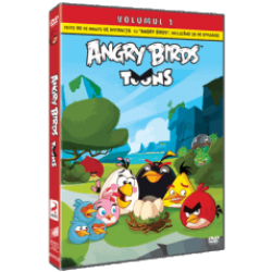Angry Birds Toons Sezonul 1 Volumul 1 - DVD
