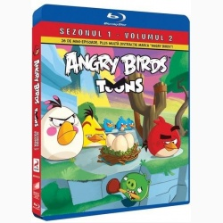 Angry Birds Toons Sezonul 1 Volumul 2 - BLU-RAY