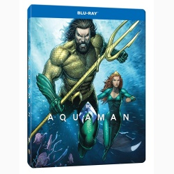 Aquaman (Steelbook, Blu-Ray Disc)