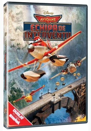 AVIOANE 2: ECHIPA DE INTERVENŢII / PLANES 2: FIRE AND RESCUE - DVD