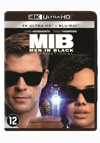 Barbati in Negru International / Men in Black International - UHD 2 discuri (4K Ultra HD + Blu-ray)