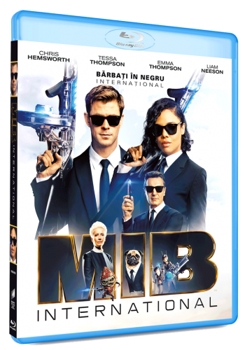 Barbati in Negru International / Men in Black International - BLU-RAY