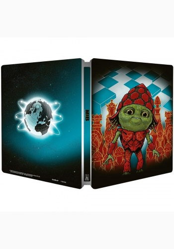 Barbati in Negru International / Men in Black International - BLU-RAY 2 discuri (Blu-ray + bonus disc) (Steelbook)