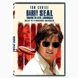 BARRY SEAL: TRAFIC ÎN STIL AMERICAN / AMERICAN MADE - DVD