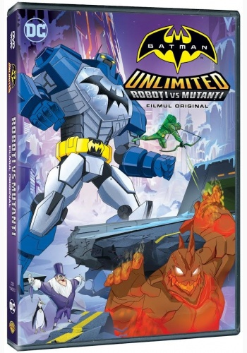 BATMAN UNLIMITED: ROBOŢI VS MUTANŢI / BATMAN UNLIMITED: MECH VS MUTANTS  - DVD