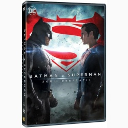 BATMAN VS. SUPERMAN: ZORII DREPTĂŢII / BATMAN V SUPERMAN: DAWN OF JUSTICE - DVD
