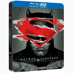 BATMAN VS. SUPERMAN: ZORII DREPTĂŢII Steelbook / BATMAN V SUPERMAN: DAWN OF JUSTICE Steelbook - 3D Steelbook