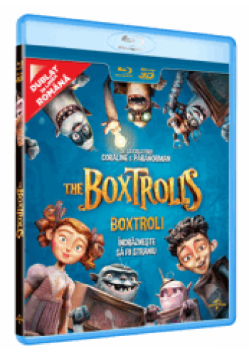 Boxtroli / The Boxtrolls - BLU-RAY 3D+2D