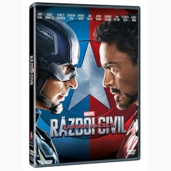 CĂPITANUL AMERICA 3: RĂZBOIUL CIVIL / CAPTAIN AMERICA: CIVIL WAR - DVD