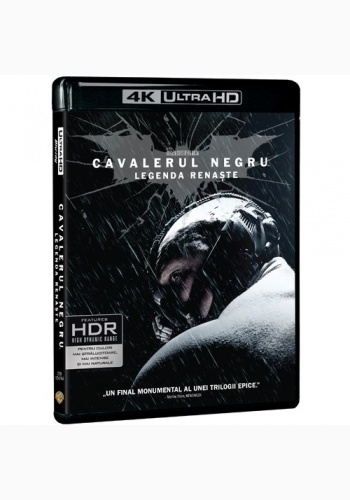 CAVALERUL NEGRU : LEGENDA RENAŞTE 4K / THE DARK KNIGHT RISES 4K - 4K
