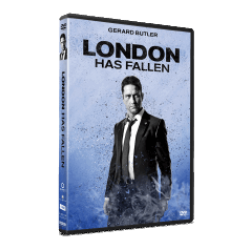 Cod roşu la Londra / London Has Fallen (Character Cover Collection) - DVD