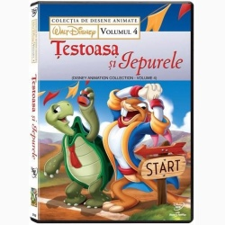 COLECŢIE DISNEY: ŢESTOASA ŞI IEPURELE Vol. 4 / DISNEY COLLECTION: TOTOISE AND THE HARE Vol.4 - DVD