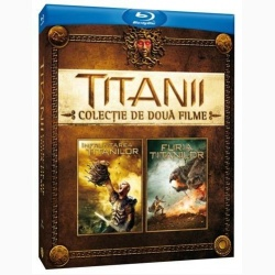 ÎNFRUNTAREA/FURIA TITANIOR BOX / CLASH/WRATH OF THE TITANS BOX - BD