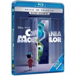 COMPANIA MONŞTRILOR  / MONSTERS INC 3D - 3D