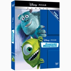 COMPANIA MONŞTRILOR - Pixar Clasic o-ring / MONSTERS INC.  - PIXAR CLASIC O-RING - DVD
