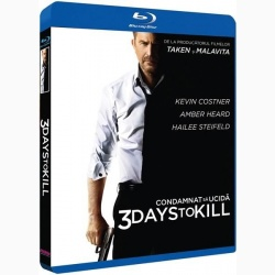 Condamnat să ucidă / 3 Days to Kill - BLU-RAY