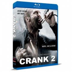 Crank 2: Tensiune maximă / Crank 2: High Voltage - BLU-RAY