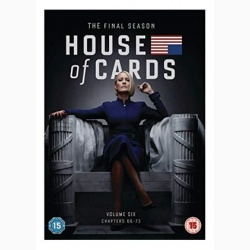 Culisele Puterii / House of Cards - Sezonul 6 (Sezonul final) - DVD (3 discuri DVD)