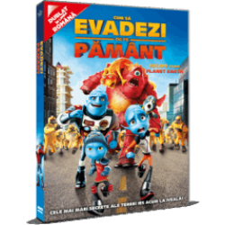 Cum să evadezi de pe Pământ / Escape From Planet Earth - DVD