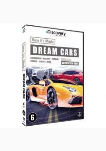 Cum se face: Maşini de vis / How It's Made: Dream Cars - Sezonul 1 (2 DVD)