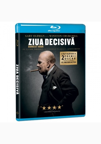 DARKEST HOUR. ZIUA DECISIVĂ / DARKEST HOUR - DVD